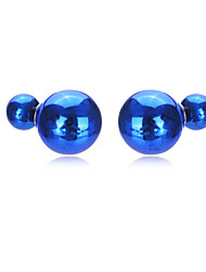 Beads Stud Earrings For Women teen girl Earring Fine Wedding Fashion Party Bridal Accessories Holiday Gift