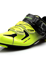 Z.SUO Unisex Cycling Sneakers Spring /Summer / Autumn / Winter Anti-Slip/ Damping/Impact /Wearproof Shoes Green/Black