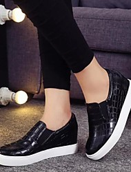 Women's Shoes Flange Streak Platform Increased Within Comfort Fashion Sneakers Outdoor / Casual