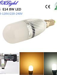 YouOKLight® 1PCS E14 8W 700lm 28-2835SMD 3000K/6000K High brightness & long life 45,000H LED Light AC110-120V/220-240V
