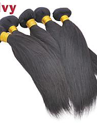 """vivy 8 """"-30"""" 5 fasci # 1b estensioni remy brasiliane capelli lisci capelli tessuto brasiliano vergini fascio di capelli umani"""