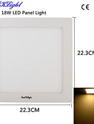 Осветительная панель 90 SMD 2835 1600 lm Тёплый белый Декоративная AC 220-240 / AC 110-130 V 1 шт.