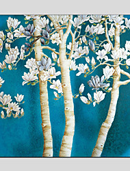 Oil Paintings Flower Style  Canvas Material with Stretched Frame Ready To Hang Size 70*70*PCS