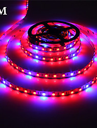 1Pcs MORSEN®5 Meter Grow LED Flexible Strip Tape Light 4 Red :1 Blue Aquarium Greenhouse Hydroponic Plant Growing Lamp
