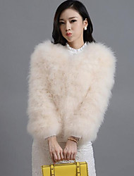 Women Special Fur Type Outerwear , Without Lining