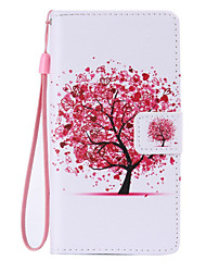 For Huawei Case / P9 / P9 Lite / P8 / P8 Lite Wallet / Card Holder / with Stand Case Full Body Case Tree Hard PU Leather HuaweiHuawei P9