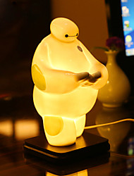 Valentine'S Day Ceramic Incense Small Night Light Sweet Lamp Aing Kind Of Sweet Gift Desk Lamp Led Light