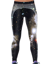 Women's Miraculous Galaxy World 3D Print Yoga Pants