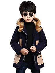 Boy's 2colors Wool Jacket & Coat , Winter / Fall Long Sleeve
