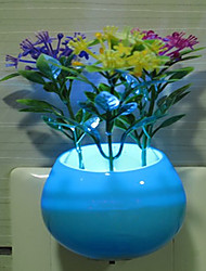 Creative and Colorful Intellisense Flower Arrangement Relating to Decorate a Night light