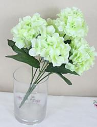 """SoooKu Artificial Hydrangea Flower 6 Big Heads Bounquet (Diameter 4.7"""" Each Heads)"""