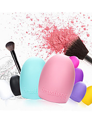 1Pcs Creative wash artifact silicone wash egg makeup tool wash gloves 6 color optional