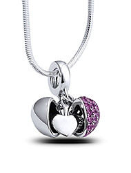 Pand with Sterling Silver Bead S925 Silver Dangle for European Charm Silver Bracelets Pendant