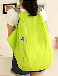 Women Canvas Weekend Bag Shoulder Bag / Backpack - Blue / Green / Red