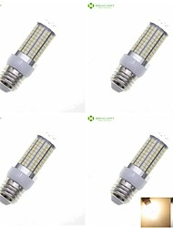 15W E14 G9 GU10 B22 E26 E26/E27 Ampoules Maïs LED Encastrée Moderne 180 SMD 2835 1200-1500 lm Blanc Chaud Blanc NaturelDécorative