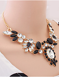 New Arrival Fashion Jewelry Luxury Crystal Gem Necklace