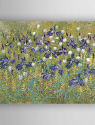 Oil Painting Abstract Flowers  Hand Painted Canvas with Stretched Framed