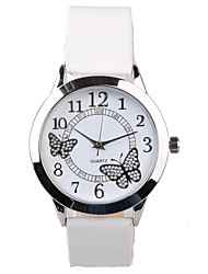 Exquisite Fashion Rhinestone Butterfly Pattern Belt Quartz Female Fashion Tble Cool Watches Unique Watches