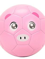 Super-K ® #2 Animal Design Training Machine Sewing PVC Soccer Ball Football SAB50154
