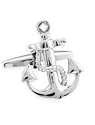 Ship anchors French shirt cufflinks cuff nail