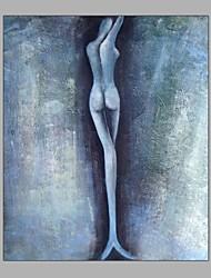 простой дизайн абстрактной живописи люди стоят в сером фоне