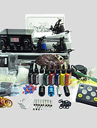 3 Guns BaseKey Tattoo Kit K310 Machine With Power Supply Grips Cups Needles(Ink not included)