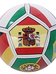Joerex ® Size 2# PVC Multi National Flag-printed Soccer Ball Football JAB30364