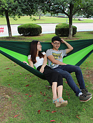 Hammock Outdoor Indoor Green Nylon Spring Autumn Nylon
