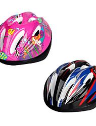 Capacete ( Rosa / Azul , EPS / PVC ) - Montanha / Estrada / Esportes - Crianças 9 AberturasCiclismo / Ciclismo de Estrada / Ciclismo de