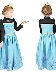 Cosplay - Noir / Bleu - Costumes de cosplay - Frozen - pour Enfant