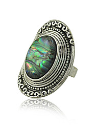 Bohemia Vintage Jewelry Rings for Women Zinc alloy with Shell Rings