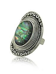 Ringe Damen Künstliche Perle Legierung Legierung Verstellbar Silber