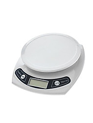 "NC-711 Electronic 1.7"" LCD Digital Kitchen Platform Scale  (7kg/1g,2 x AAA)"