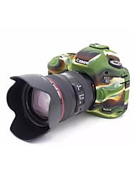 dengpin couverture souple de la caméra en caoutchouc de la peau cas sac d'armure de silicone pour Canon EOS 5D Mark III 5d3 5ds 5dr