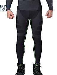 Shaperdiva Mens Stretch Gym Tight Pants Body Shaper Sports Leggings