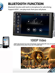 universele auto dvd speler android4.4 2 din 7 inch 1024 x 768built bluetooth gps-interface stuurwielcontrole 3g