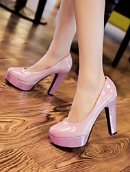 Women's Shoes Glitter / Customized Materials Stiletto Heel Heels / Platform Heels Office & Career / Party & Evening