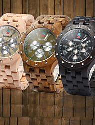 moda de madeira relógio / relógio / relógio de madeira de bambu ideia retro / presente dos homens