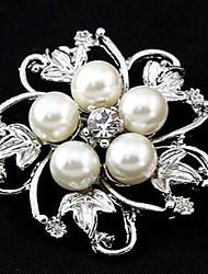 Z&X® Fashion Pearl Popular Brooches Wedding / Rhinestone Party / Daily 1pc