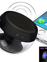6W LED MiNi Bluetooth Speaker Micro SD Mic USB AUX Portable Handfree for iPhone Samsung and Other Cellphone