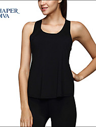 Shaperdiva Women's Racerback Fitness Sleeveless Vest Workout Tank Tops