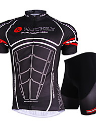 NUCKILY Bike/Cycling Jersey / Shorts / Jersey + Shorts / Clothing Sets/Suits / Tops Unisex Short SleeveWaterproof / Breathable /