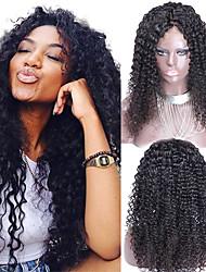 Mongolian Virgin Hair Wig Kinky Curly Lace Wigs 12-26inch Kinky Curly Full Lace Human Hair Wigs Bleached Knots