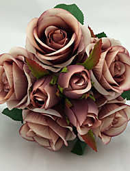8 Heads High Quality  Rose Simulation Flower