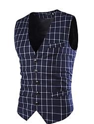 Costumes & Blazers ( Coton mélangé ) Informel Courroies à Sans manche pour Homme