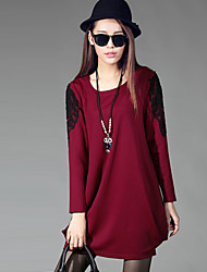 Women's Loose Long-Sleeved Dress