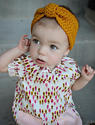 Kid's Knitted Bow Headband (3 Month-3Years Old)