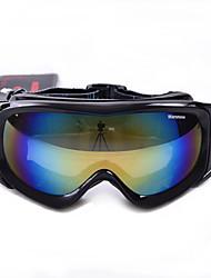 marsnow lunettes de ski double couche lunettes lentille de snowboard anti-snowblind lunettes de ski anti-brouillard neige de l'hiver