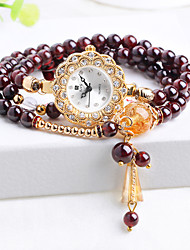 2016 hot fashion Garnet Bracelet watches students Ms. hand painted waterproof diamond agate Cool Watches Unique Watches