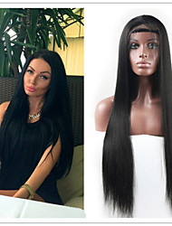 "10""-30"" Glueless Full Lace Wigs Peruvian Virgin Hair Straight Lace Front wig  Full Lace Human Hair Wigs For Black Women"